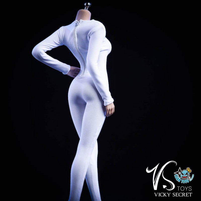 VSTOYS 19XG37B LONG SLEEVED BODYSUIT 長袖連身緊身衣(B款白色)-02