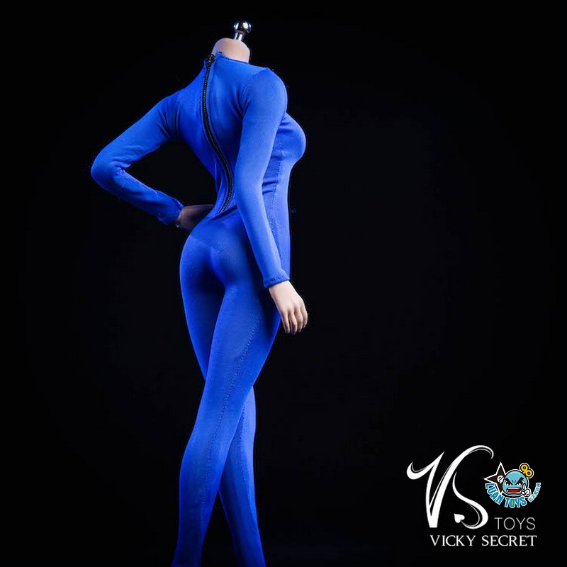 VSTOYS 19XG37D LONG SLEEVED BODYSUIT 長袖連身緊身衣(D款藍色)-02