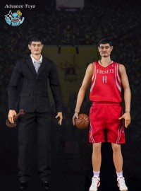 Advance toys AD-0111 HOUSTON ROCKETS 美國職-籃休士頓火箭隊 – YAO MING 姚明-01