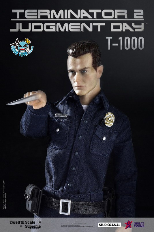 GREAT TWINS TERMINATOR JUDGMENT DAY 魔鬼終結者 2 審判日 – T-1000 液態金屬人-01