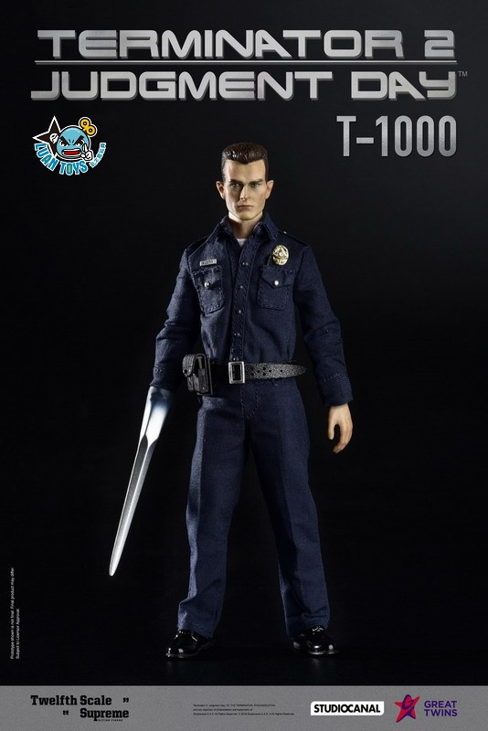 GREAT TWINS TERMINATOR JUDGMENT DAY 魔鬼終結者 2 審判日 – T-1000 液態金屬人-02