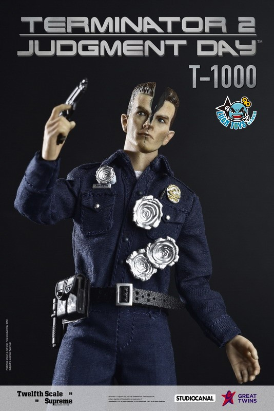 GREAT TWINS TERMINATOR JUDGMENT DAY 魔鬼終結者 2 審判日 – T-1000 液態金屬人-03