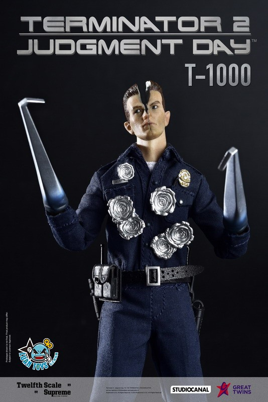 GREAT TWINS TERMINATOR JUDGMENT DAY 魔鬼終結者 2 審判日 – T-1000 液態金屬人-04