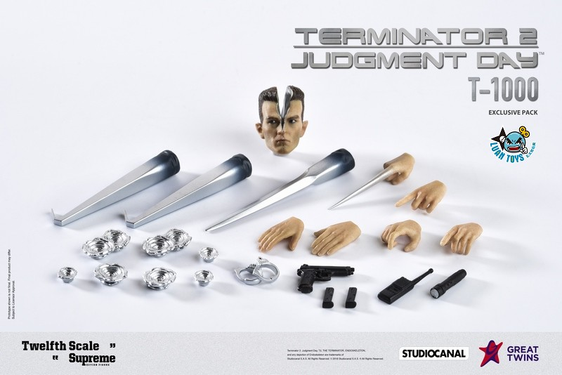 GREAT TWINS TERMINATOR JUDGMENT DAY 魔鬼終結者 2 審判日 – T-1000 液態金屬人-05
