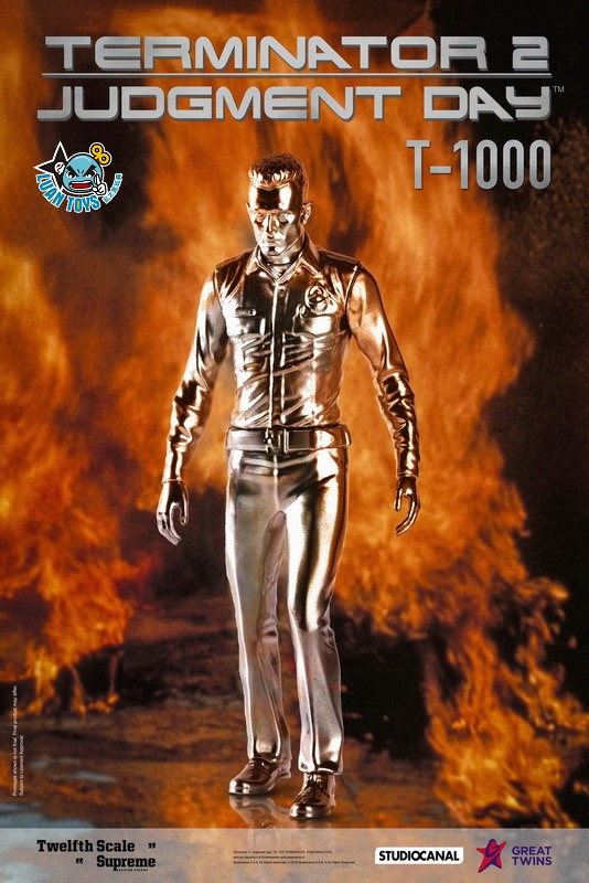 GREAT TWINS TERMINATOR JUDGMENT DAY 魔鬼終結者 2 審判日 – T-1000 液態金屬人(DX版)-01