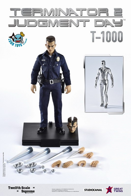 GREAT TWINS TERMINATOR JUDGMENT DAY 魔鬼終結者 2 審判日 – T-1000 液態金屬人(DX版)-02