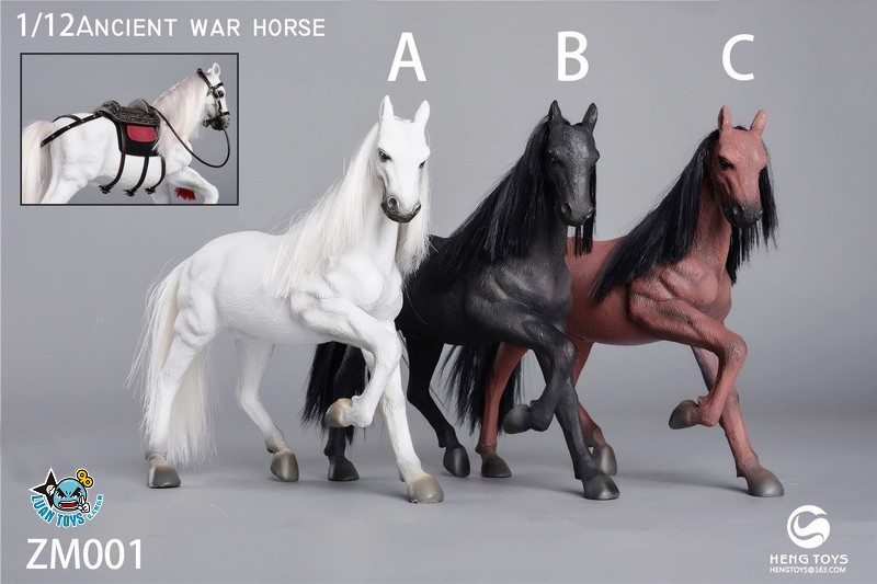 HENG Toys ZM001 ANCIENT WAR HORSE 古代戰馬(跑姿版)-01