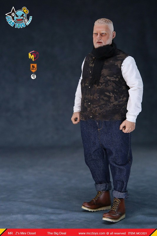 MCCToys X MR.Z MCC021 MINI CLOSET 迷你衣櫥系列 – THE BIG DEAL(CASUAL SETS) 大佬服裝配件組(休閒版)-09