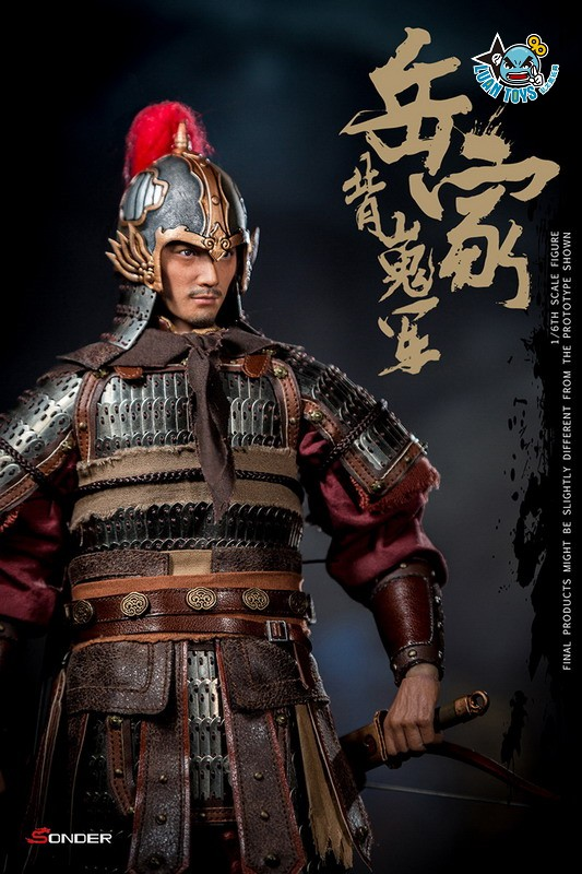 SONDER SD003 SONG DYNASTY 宋朝 - WARRIOR OF ARMY YUE 岳家背嵬軍-01