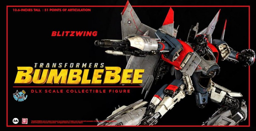 Threezero TRANSFORMERS BUMBLEBEE 變形金剛 大黃蜂 – BLITZWING 閃電-01