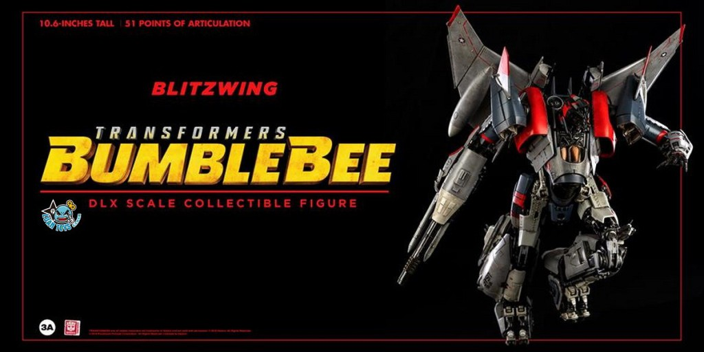Threezero TRANSFORMERS BUMBLEBEE 變形金剛 大黃蜂 – BLITZWING 閃電-02