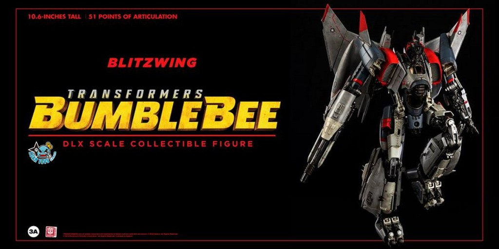 Threezero TRANSFORMERS BUMBLEBEE 變形金剛 大黃蜂 – BLITZWING 閃電-03
