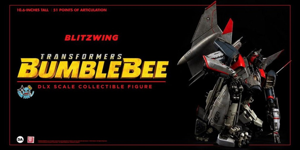 Threezero TRANSFORMERS BUMBLEBEE 變形金剛 大黃蜂 – BLITZWING 閃電-04