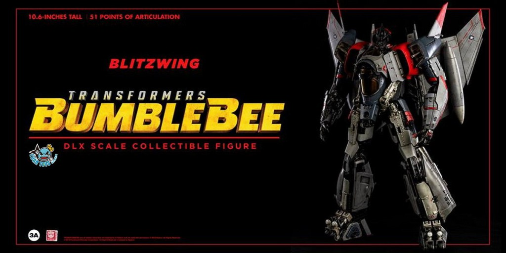 Threezero TRANSFORMERS BUMBLEBEE 變形金剛 大黃蜂 – BLITZWING 閃電-05