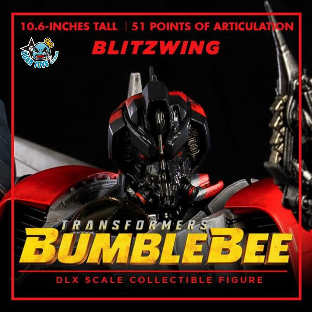 Threezero TRANSFORMERS BUMBLEBEE 變形金剛 大黃蜂 – BLITZWING 閃電-06