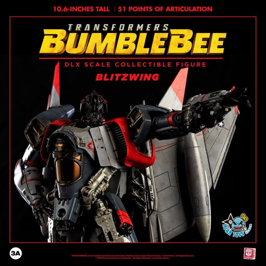 Threezero TRANSFORMERS BUMBLEBEE 變形金剛 大黃蜂 – BLITZWING 閃電-07