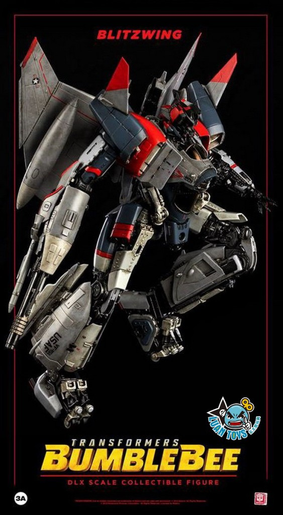 Threezero TRANSFORMERS BUMBLEBEE 變形金剛 大黃蜂 – BLITZWING 閃電-10