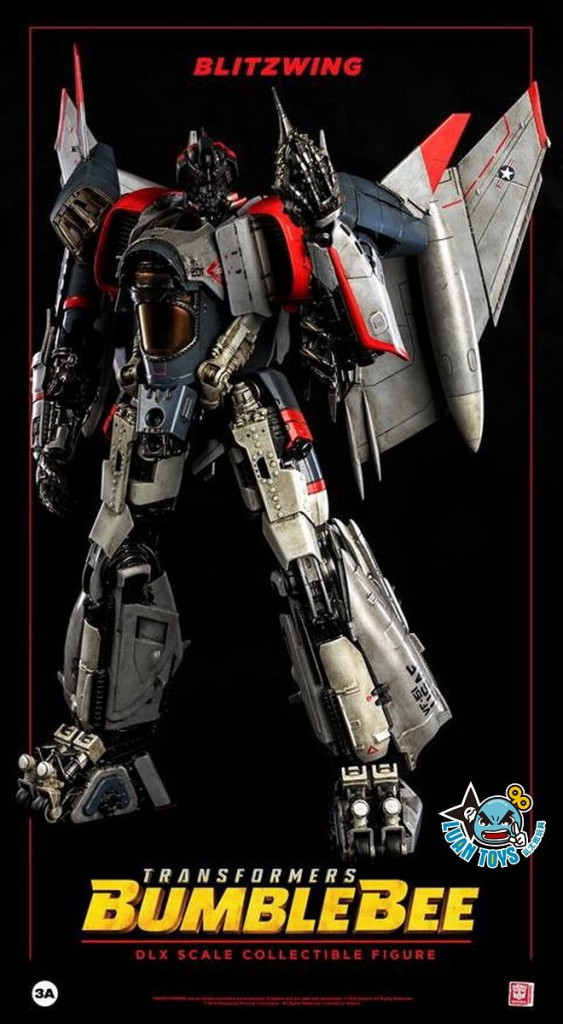 Threezero TRANSFORMERS BUMBLEBEE 變形金剛 大黃蜂 – BLITZWING 閃電-12