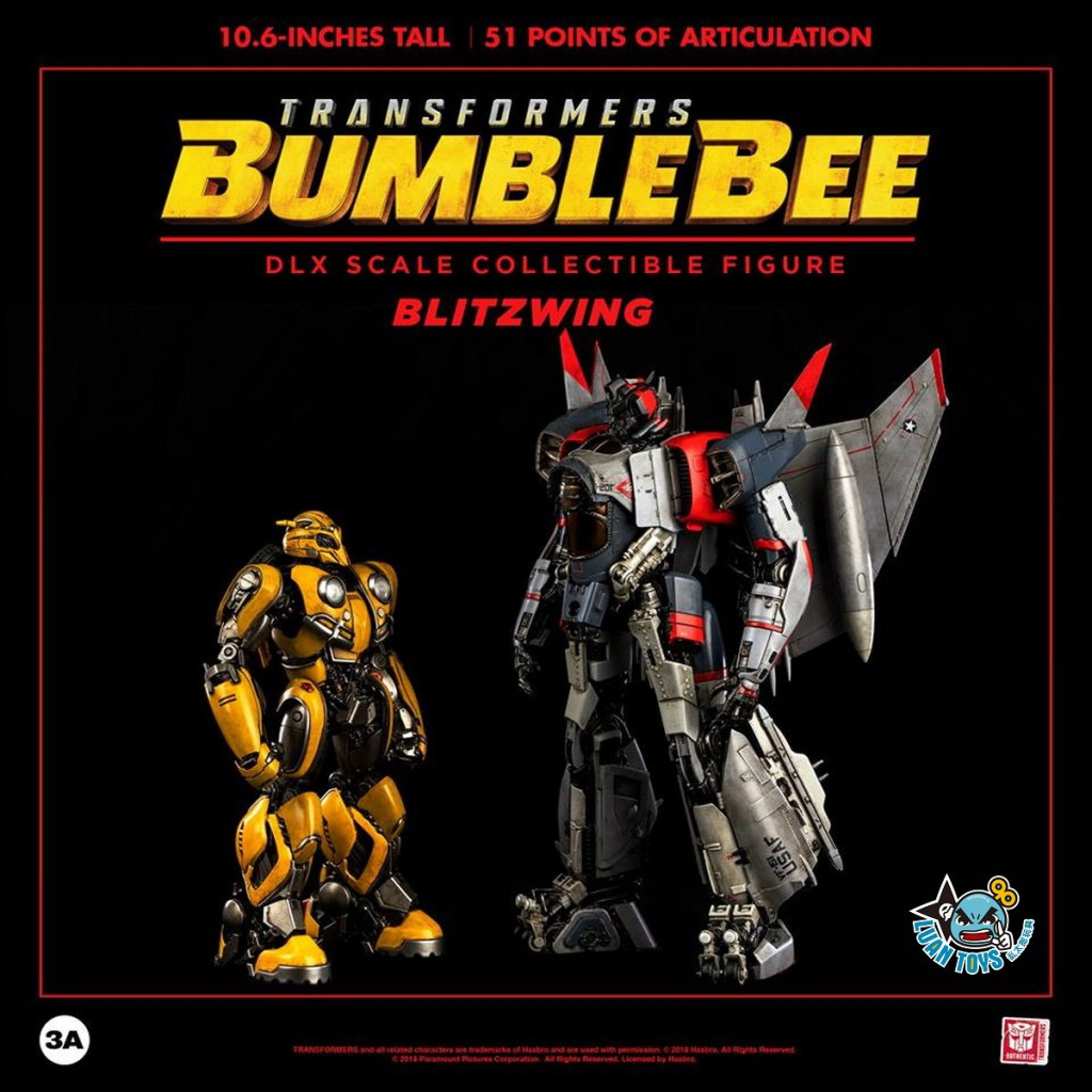 Threezero TRANSFORMERS BUMBLEBEE 變形金剛 大黃蜂 – BLITZWING 閃電-15