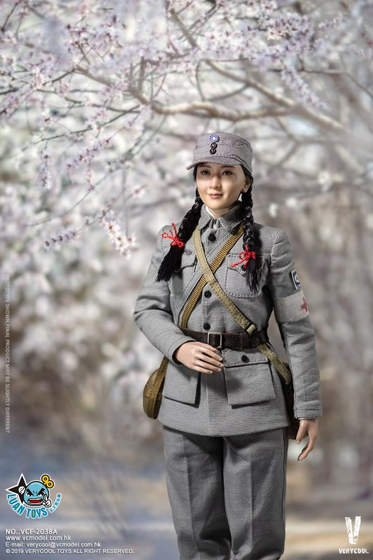VERYCOOL VCF-2038A WWII MILITARY UNIFORM EIGHT ROUTE ARMY MEDICAL SOLDIER 二戰國軍八路軍醫務兵-01