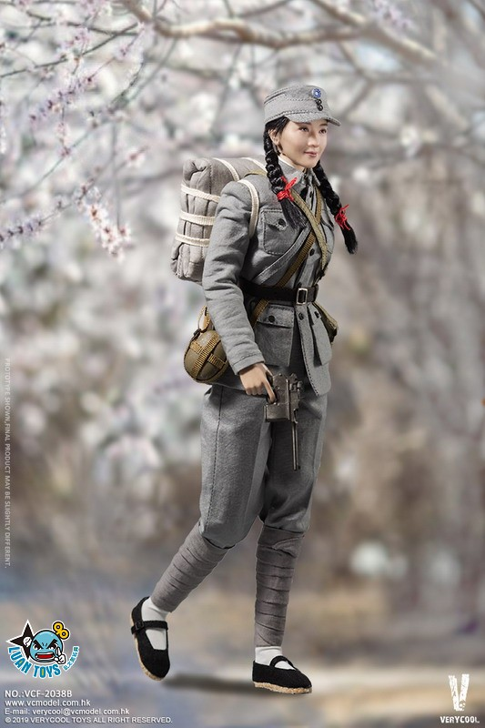 VERYCOOL VCF-2038A WWII MILITARY UNIFORM EIGHT ROUTE ARMY MEDICAL SOLDIER 二戰國軍八路軍醫務兵-03
