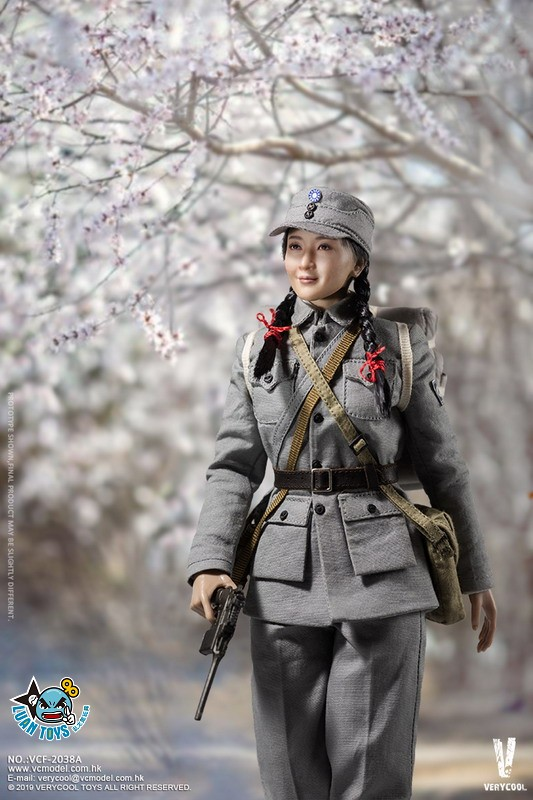 VERYCOOL VCF-2038A WWII MILITARY UNIFORM EIGHT ROUTE ARMY MEDICAL SOLDIER 二戰國軍八路軍醫務兵-04