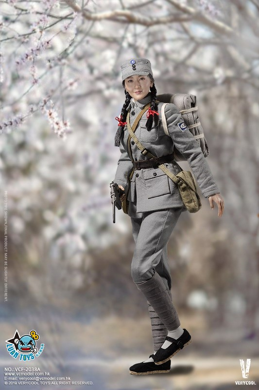 VERYCOOL VCF-2038A WWII MILITARY UNIFORM EIGHT ROUTE ARMY MEDICAL SOLDIER 二戰國軍八路軍醫務兵-05