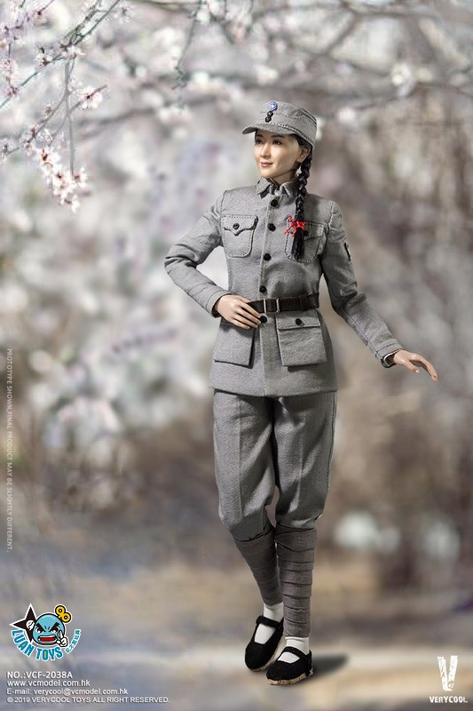 VERYCOOL VCF-2038A WWII MILITARY UNIFORM EIGHT ROUTE ARMY MEDICAL SOLDIER 二戰國軍八路軍醫務兵-08
