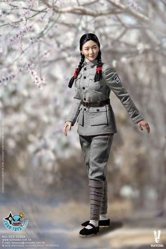 VERYCOOL VCF-2038A WWII MILITARY UNIFORM EIGHT ROUTE ARMY MEDICAL SOLDIER 二戰國軍八路軍醫務兵-09