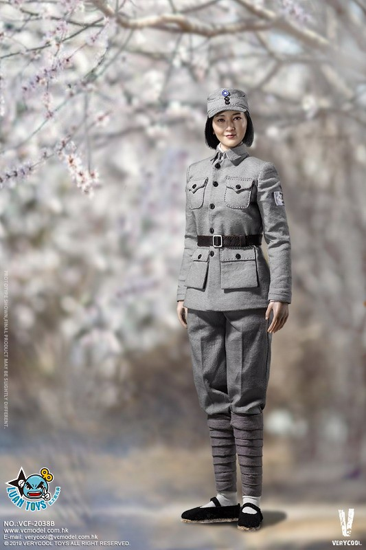 VERYCOOL VCF-2038B WWII MILITARY UNIFORM EIGHT ROUTE ARMY MEDICAL SOLDIER 二戰國軍八路軍醫務兵(DX版)-02