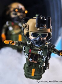 FIGURE BASE TM009 US ARMY SPECIAL FORCES GROUP HALO JUMPER 美國軍特種作戰群傘兵-05