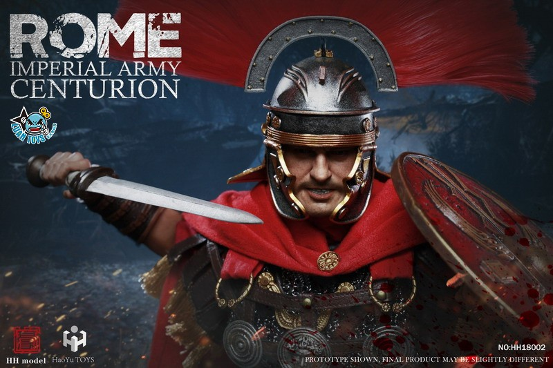 HH model & HaoYu TOYS ROMAN EMPIRE LEGIONARY 羅馬帝國軍團 – ROMAN CENTURION 百夫長-01