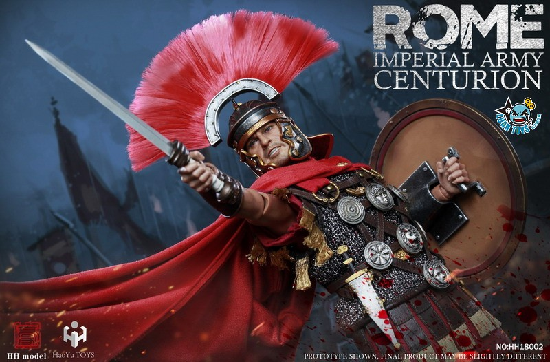 HH model & HaoYu TOYS ROMAN EMPIRE LEGIONARY 羅馬帝國軍團 – ROMAN CENTURION 百夫長-02