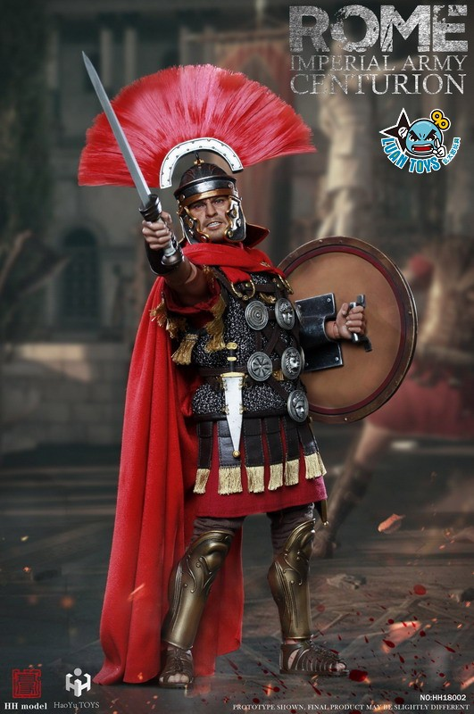 HH model & HaoYu TOYS ROMAN EMPIRE LEGIONARY 羅馬帝國軍團 – ROMAN CENTURION 百夫長-03