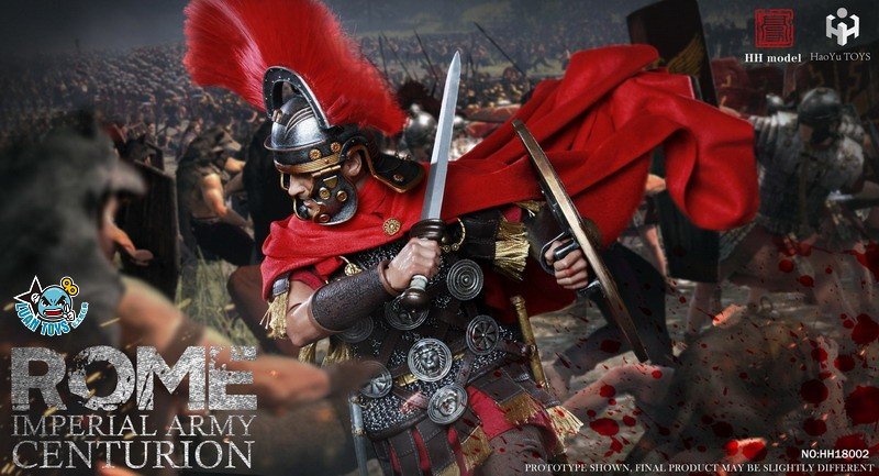 HH model & HaoYu TOYS ROMAN EMPIRE LEGIONARY 羅馬帝國軍團 – ROMAN CENTURION 百夫長-04