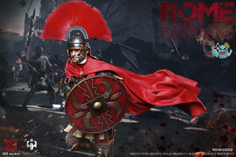 HH model & HaoYu TOYS ROMAN EMPIRE LEGIONARY 羅馬帝國軍團 – ROMAN CENTURION 百夫長-05