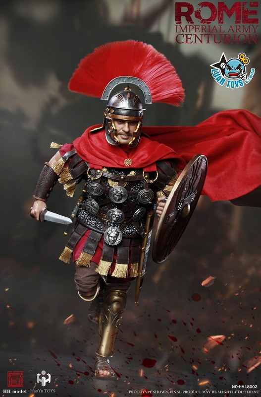 HH model & HaoYu TOYS ROMAN EMPIRE LEGIONARY 羅馬帝國軍團 – ROMAN CENTURION 百夫長-06
