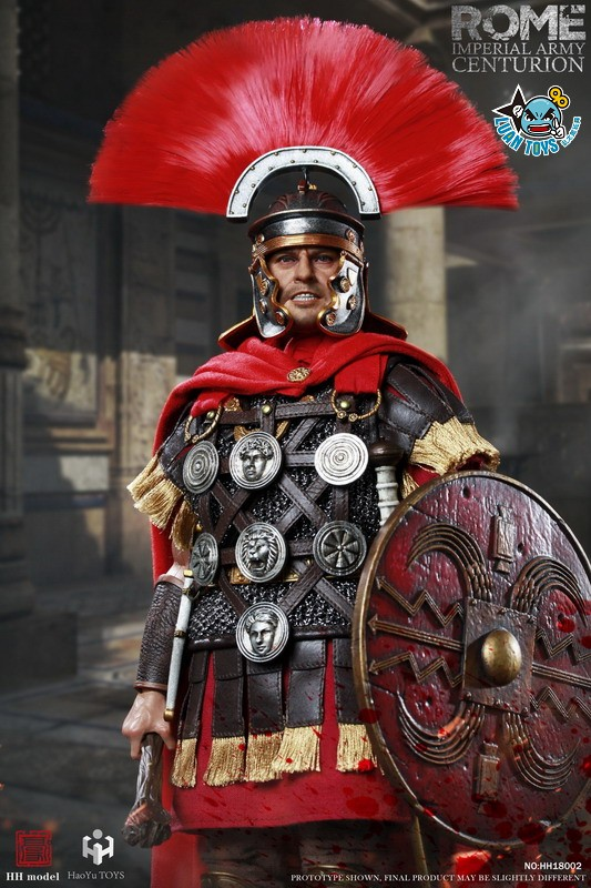 HH model & HaoYu TOYS ROMAN EMPIRE LEGIONARY 羅馬帝國軍團 – ROMAN CENTURION 百夫長-07