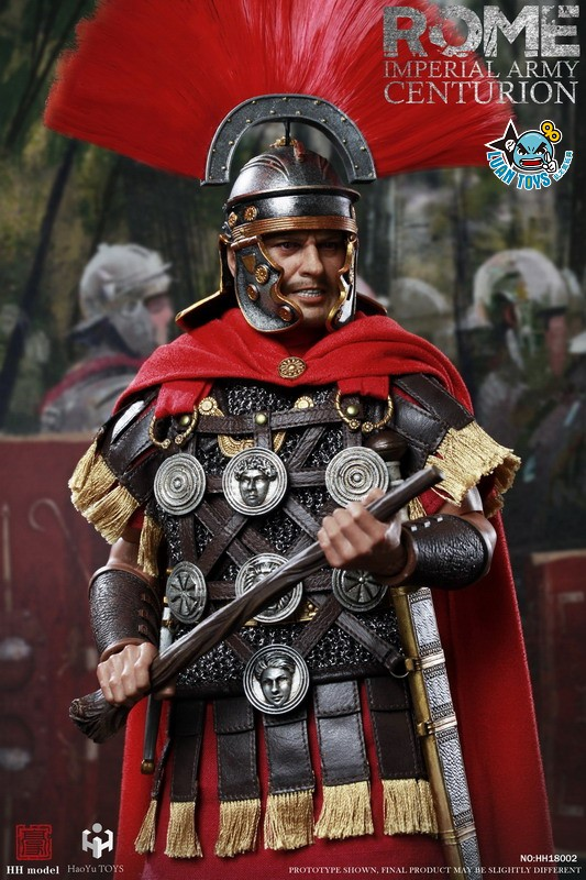 HH model & HaoYu TOYS ROMAN EMPIRE LEGIONARY 羅馬帝國軍團 – ROMAN CENTURION 百夫長-09
