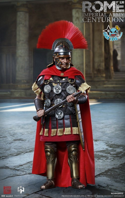 HH model & HaoYu TOYS ROMAN EMPIRE LEGIONARY 羅馬帝國軍團 – ROMAN CENTURION 百夫長-10