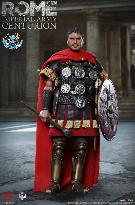 HH model & HaoYu TOYS ROMAN EMPIRE LEGIONARY 羅馬帝國軍團 – ROMAN CENTURION 百夫長-13