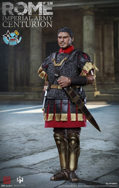 HH model & HaoYu TOYS ROMAN EMPIRE LEGIONARY 羅馬帝國軍團 – ROMAN CENTURION 百夫長-14