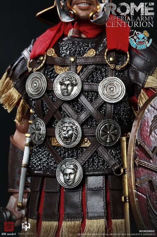 HH model & HaoYu TOYS ROMAN EMPIRE LEGIONARY 羅馬帝國軍團 – ROMAN CENTURION 百夫長-15