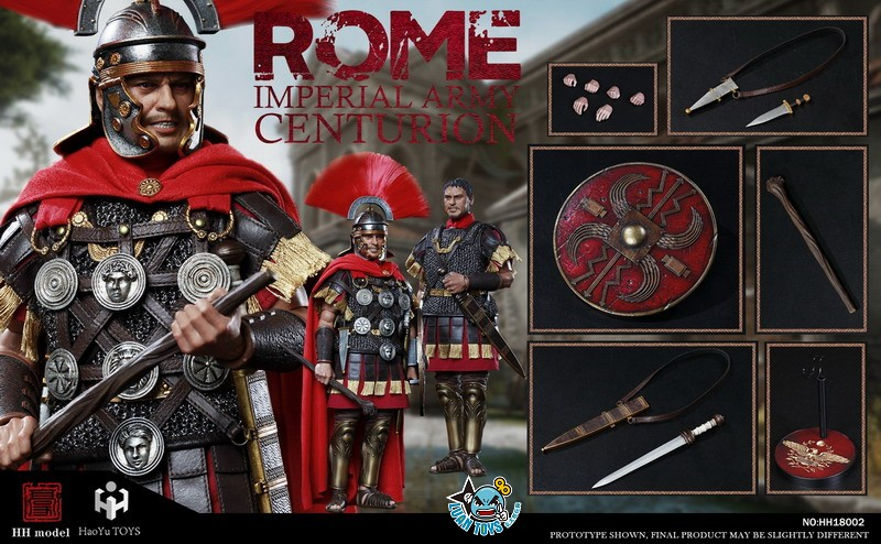 HH model & HaoYu TOYS ROMAN EMPIRE LEGIONARY 羅馬帝國軍團 – ROMAN CENTURION 百夫長-19