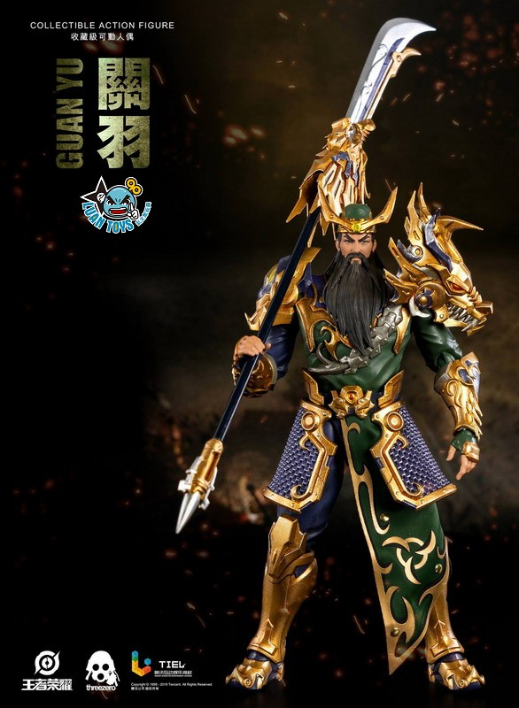 Threezero HONOR OF KINGS 王者榮耀 - GUAN YU 關羽-02