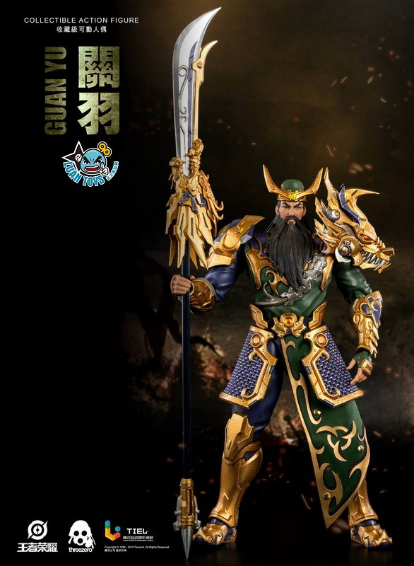 Threezero HONOR OF KINGS 王者榮耀 - GUAN YU 關羽-03