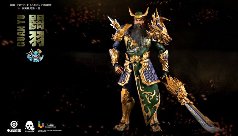 Threezero HONOR OF KINGS 王者榮耀 - GUAN YU 關羽-04
