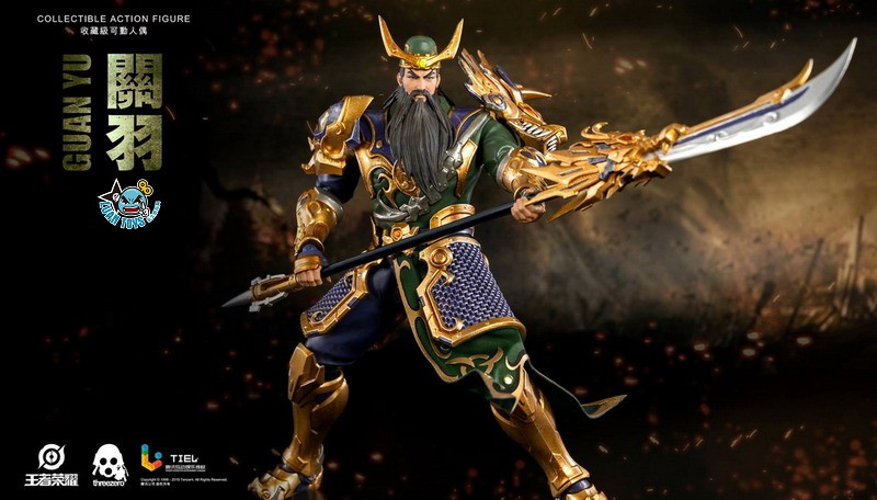 Threezero HONOR OF KINGS 王者榮耀 - GUAN YU 關羽-05