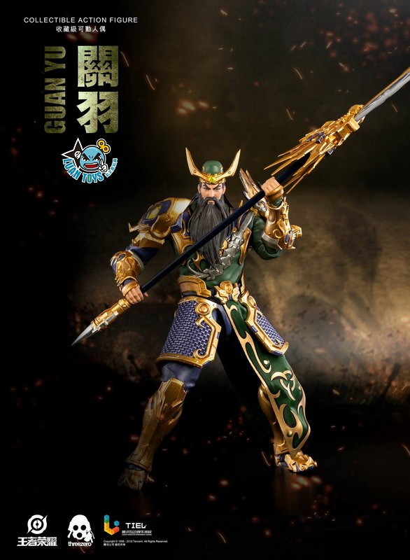 Threezero HONOR OF KINGS 王者榮耀 - GUAN YU 關羽-06