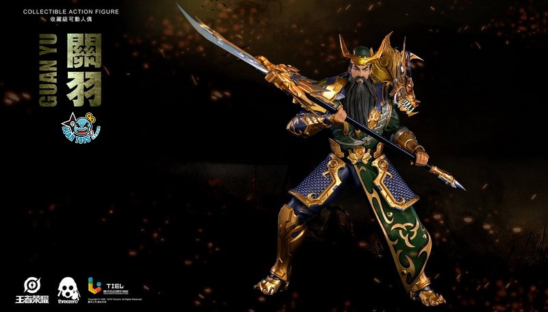 Threezero HONOR OF KINGS 王者榮耀 - GUAN YU 關羽-07